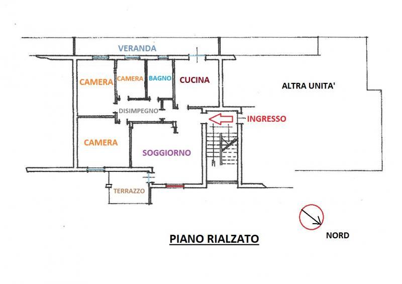 Appartamento tricamere in vendita a Cividale del Friuli - Appartamento tricamere in vendita a Cividale del Friuli