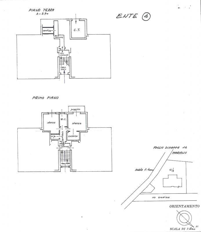 Appartamento monocamera in vendita a Mariano del Friuli - Appartamento monocamera in vendita a Mariano del Friuli