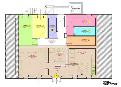 Appartamento bicamere in vendita a Forni di Sopra - Appartamento bicamere in vendita a Forni di Sopra