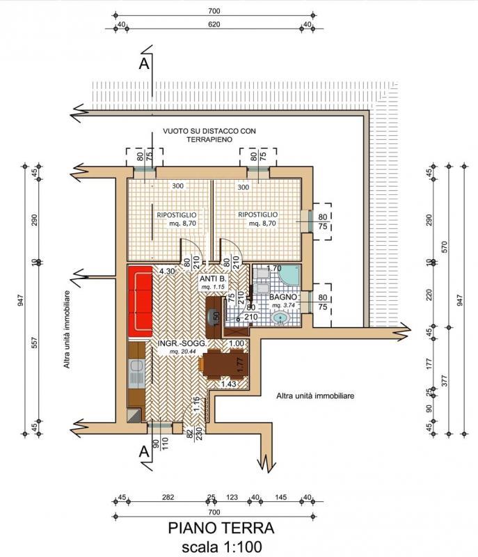 Appartamento monocamera in vendita a Sauris di sopra - Appartamento monocamera in vendita a Sauris di sopra