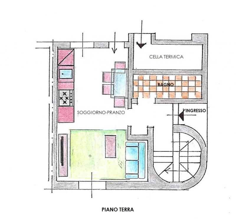 Appartamento bicamere in vendita a Osoppo - Appartamento bicamere in vendita a Osoppo