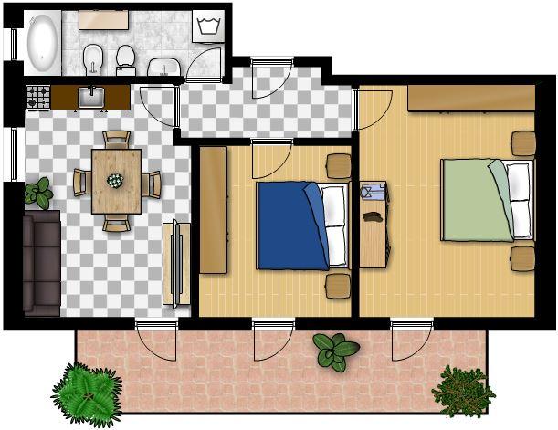Appartamento trilocale in affitto a molveno - Appartamento trilocale in affitto a molveno