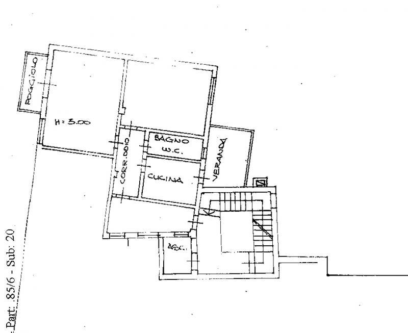 Soggiorno - Appartamento monocamera in vendita a Monfalcone