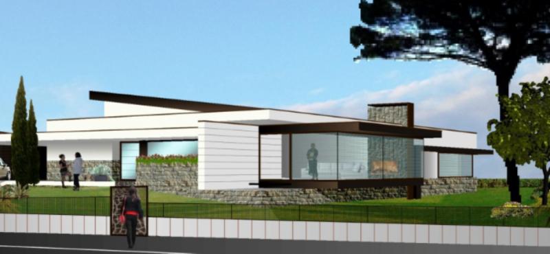 Progetti case moderne su un piano for Piani di progettazione domestica con foto