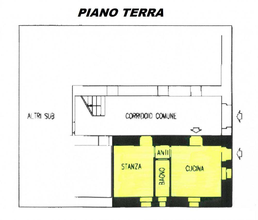 Appartamento trilocale in vendita a Roncone - Appartamento trilocale in vendita a Roncone