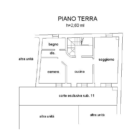 Appartamento monocamera in vendita a Coltura - Appartamento monocamera in vendita a Coltura