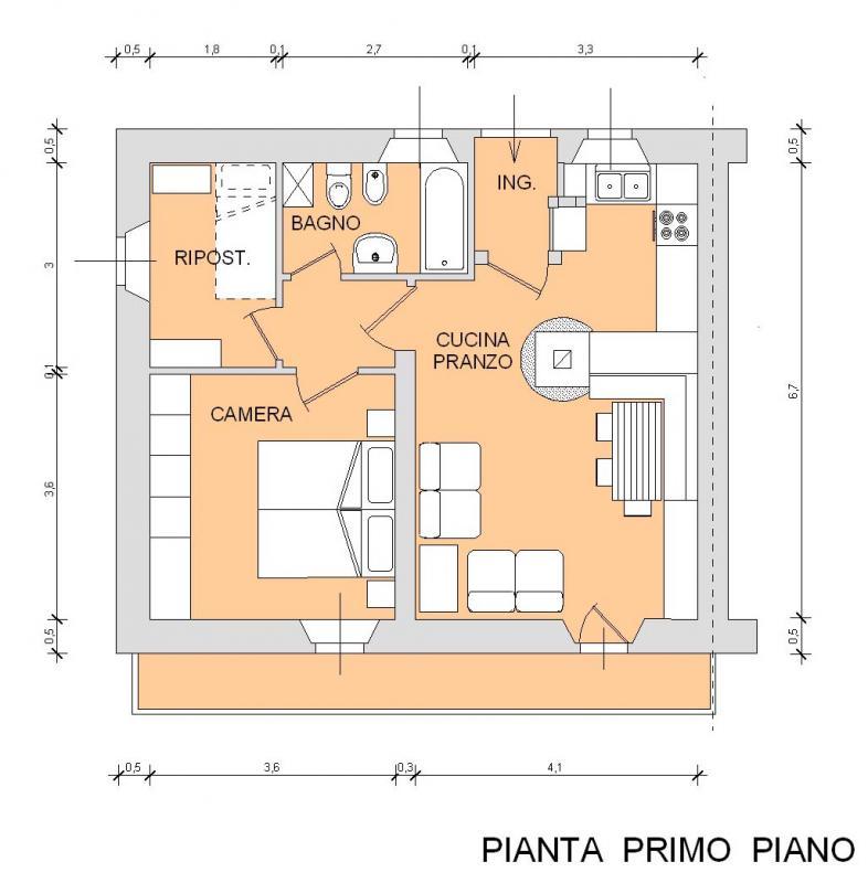 Appartamento monocamera in vendita a Sauris - Appartamento monocamera in vendita a Sauris