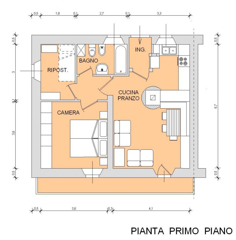 appartamento in vendita a sauris