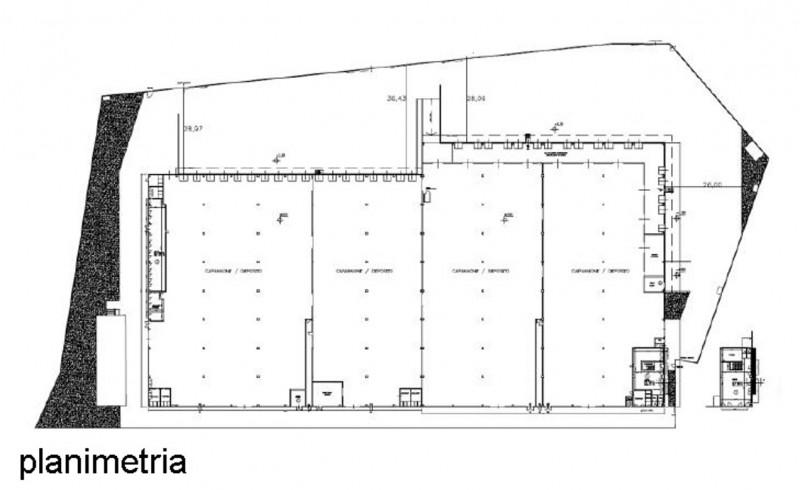 Magazzino-laboratorio quadrilocale in affitto a settala - Magazzino-laboratorio quadrilocale in affitto a settala
